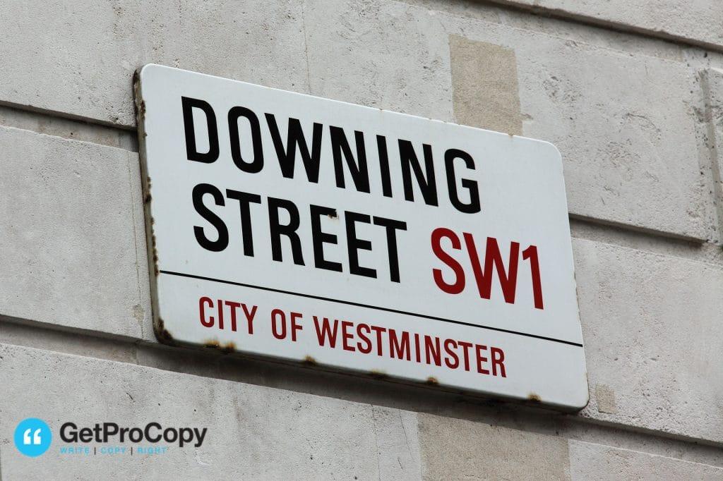 %name downing street