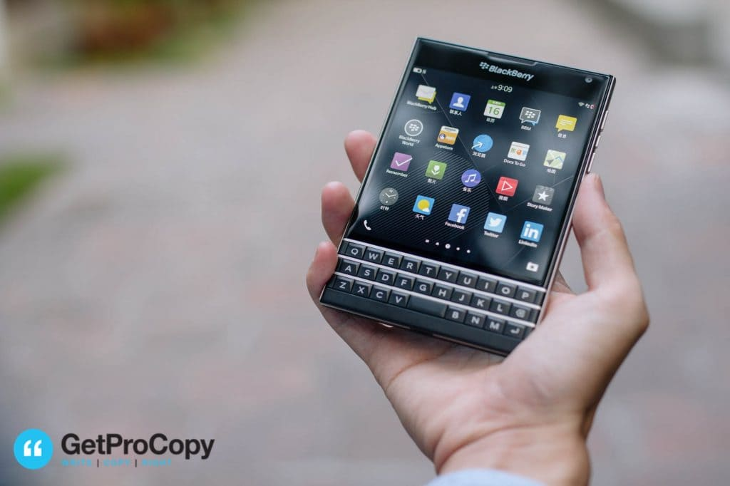 %name Blackberry Passport